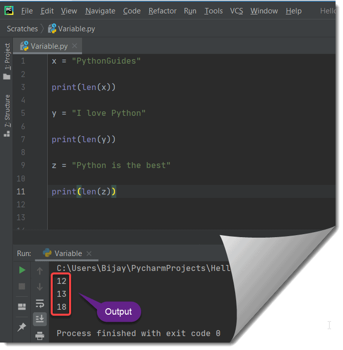 How to check the length of a python string