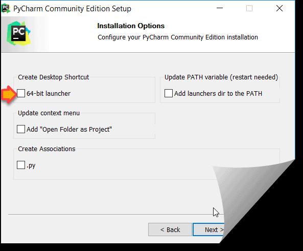 Python IDE installation