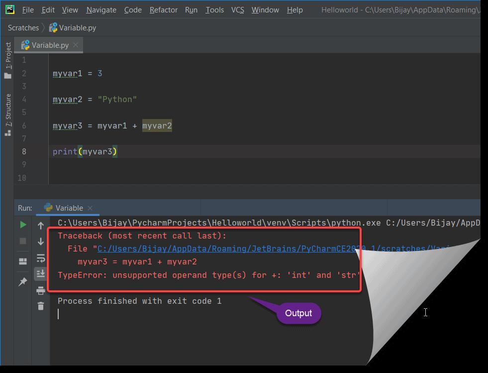 TypeError unsupported operand type(s) in python