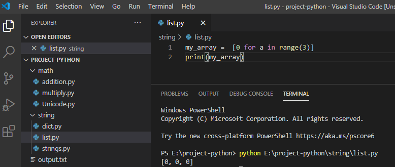 Create An Empty Array In Python - Python Guides