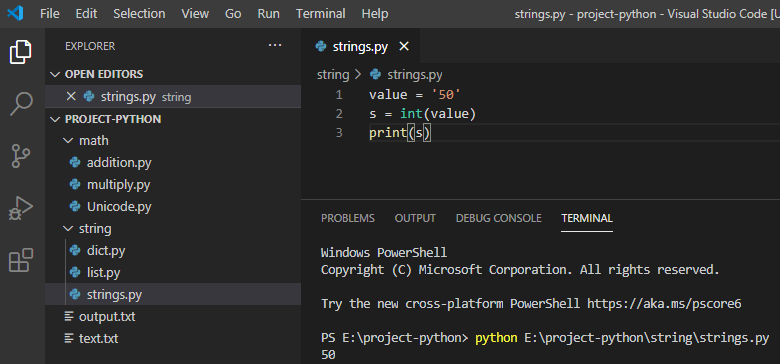 Python invalid literal for int() with base 10