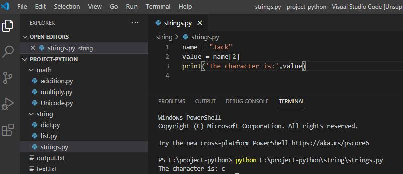 indexerror string index out of range python 3