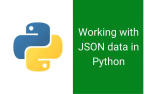 JSON data in Python