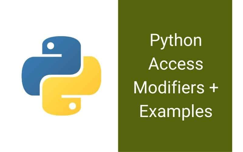 Python Access Modifiers