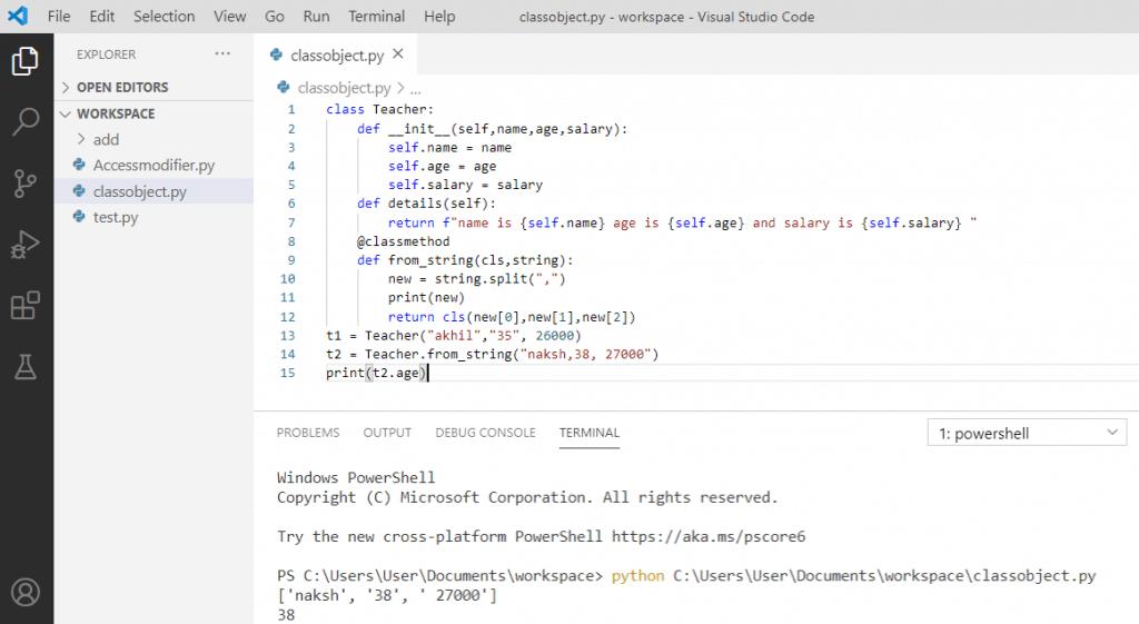 Python Constructor alternate