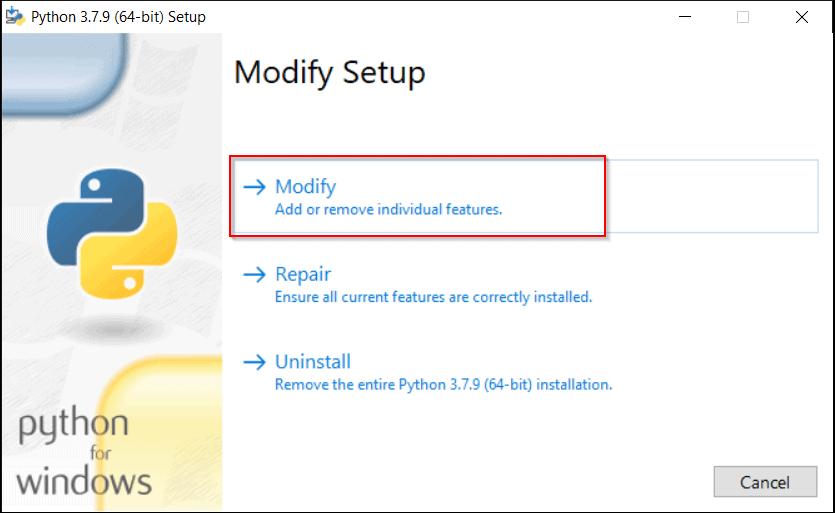 Python GUI Programming (Tkinter) modify