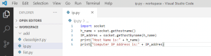 Python get IP Address