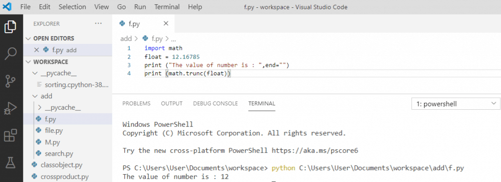 Python Float Precision truncate