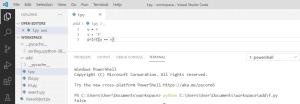 Python Comparison Operators