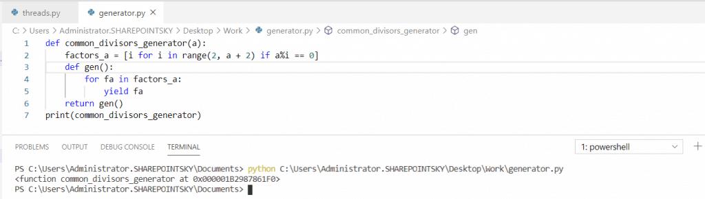 Python convert generator to an iterator