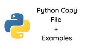 Python copy file