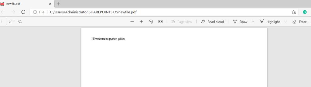 Python create pdf from HTML