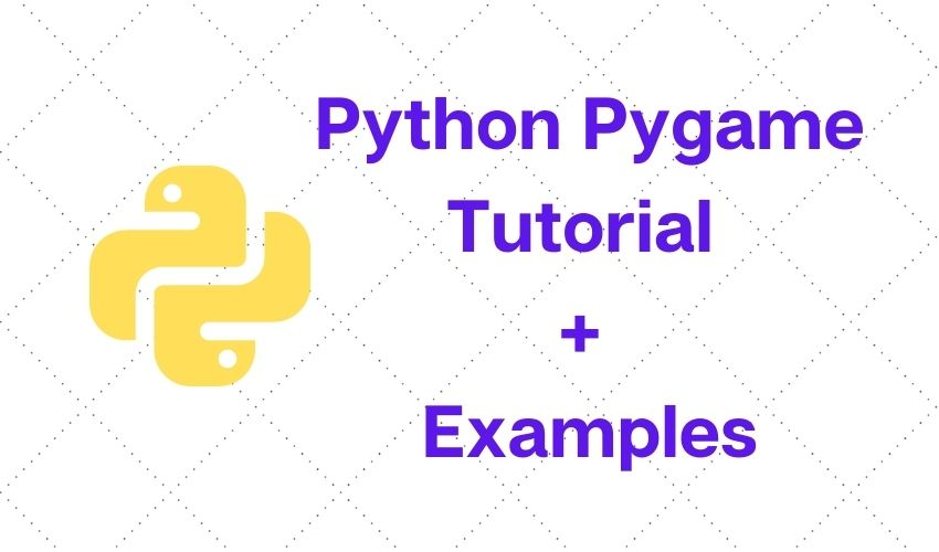python pygame tutorial