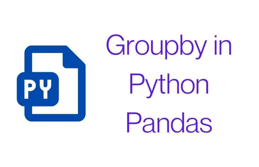 Groupby in Python Pandas