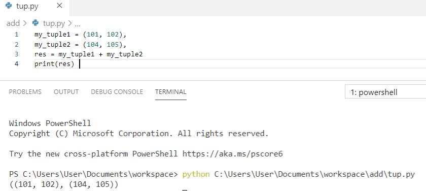Python concatenate tuples to nested tuples