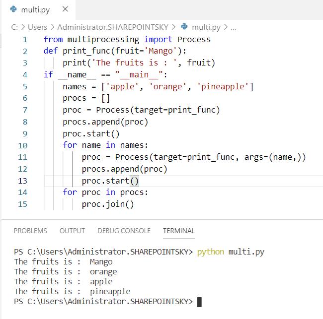 Python multiprocessing queue