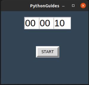 python tkinter countdown timer