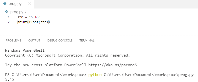 How to fix could not convert string to float python