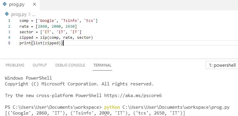 Python zip list of lists