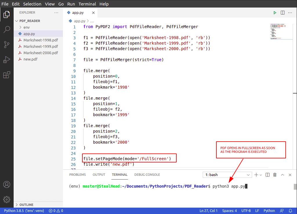 python PyPDF2 pageMode