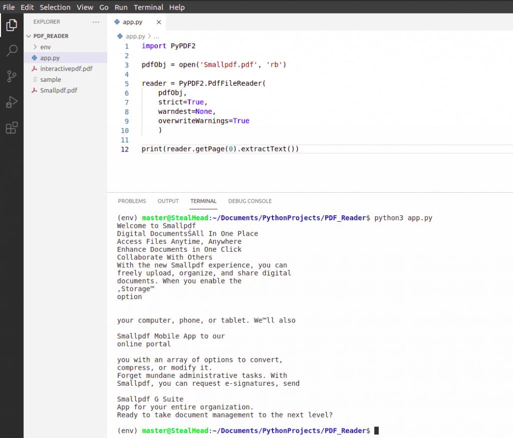 python tkinter PyPDF2 getPage