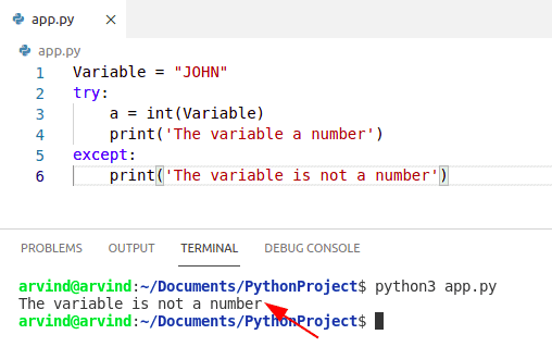 Python check if a variable is a number