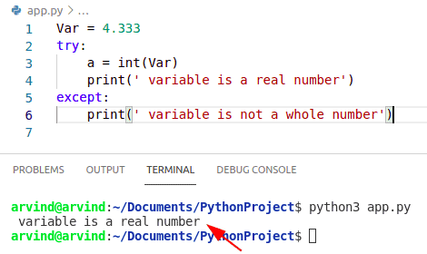 Python check if a variable is a real number