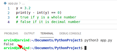 Python Check if variable is whole number