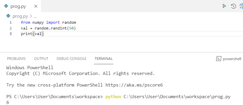 Python NumPy Random
