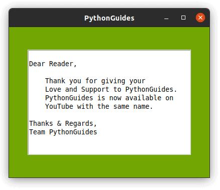 python tkinter Text box not editable