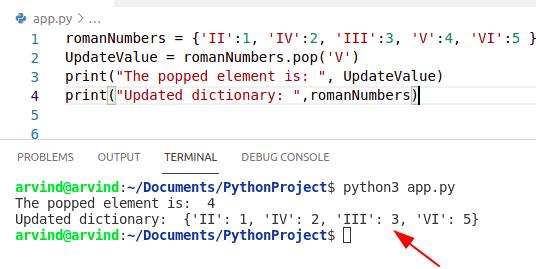 Python Dictionary update key