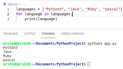 Python create a variable in a loop