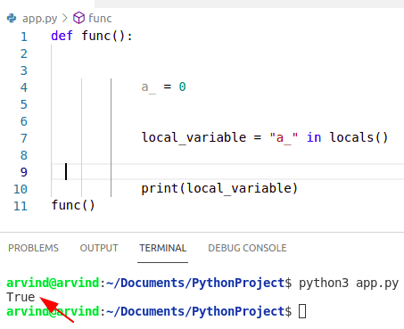 Python create variable if not exist