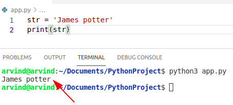 Python creates string with single quotes