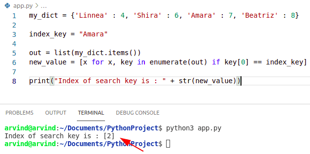 Python dictionary index multiple keys