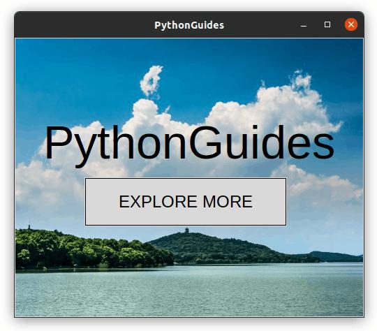 python tkinter images background