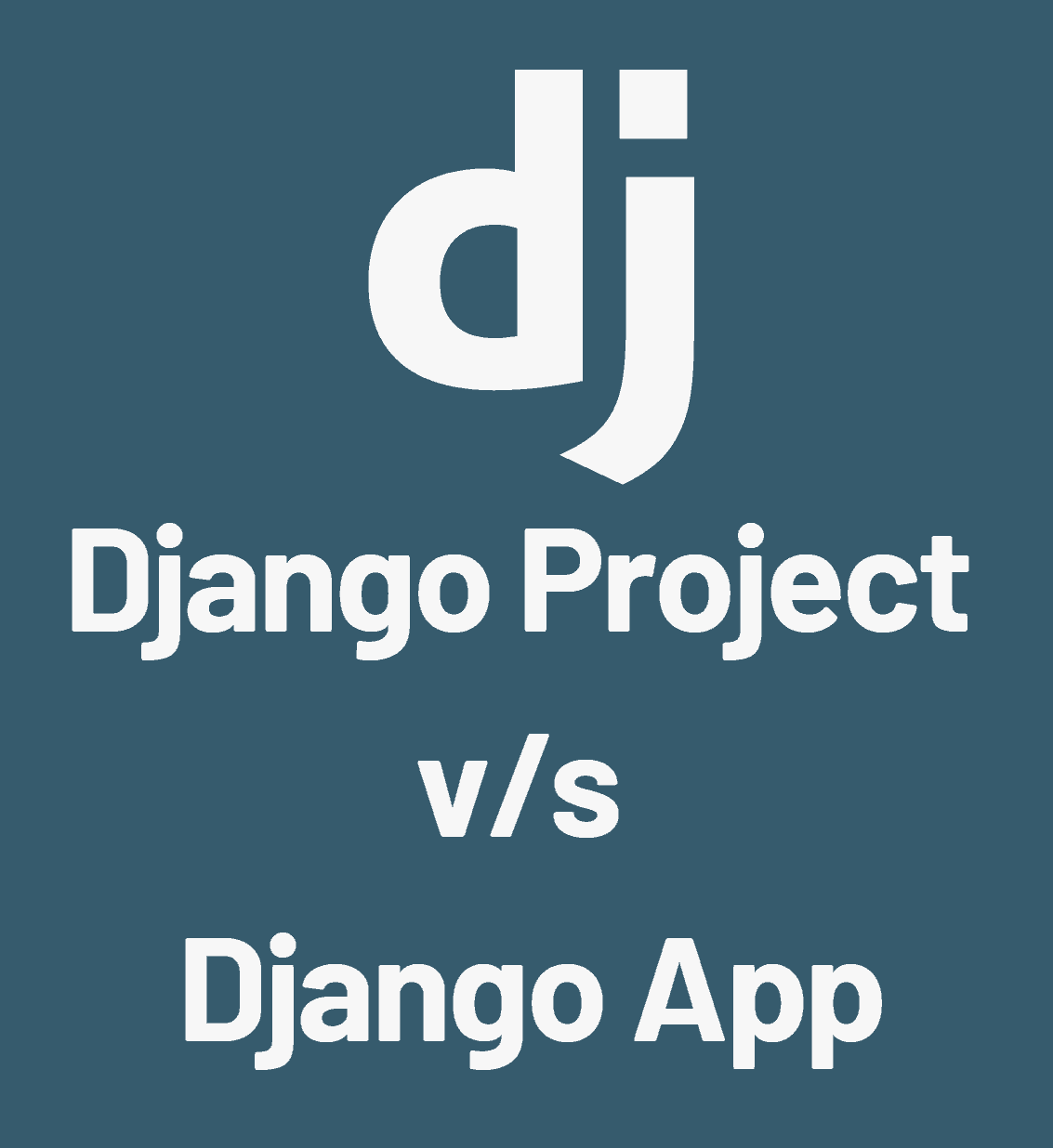 Difference between app and project in Django