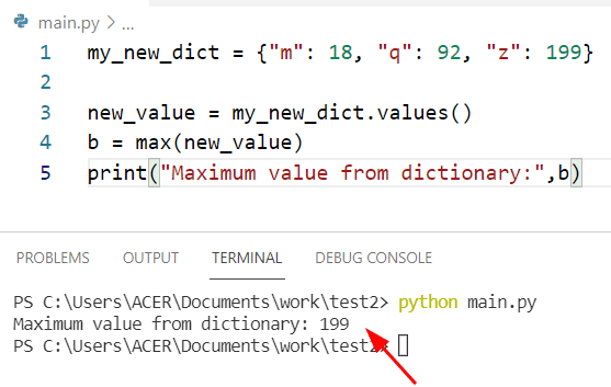Get all max values from dictionary Python