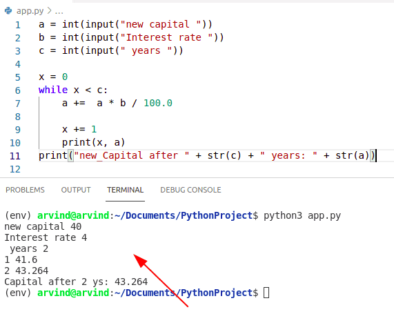 PYthon while loop string condition