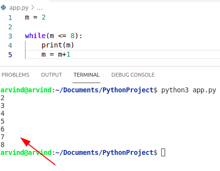 Python while loop check condition