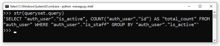 Python Django orm group by filter
