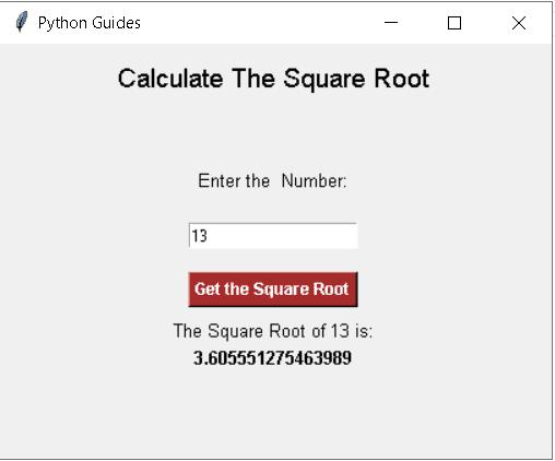 Python Tkinter save input to variable1