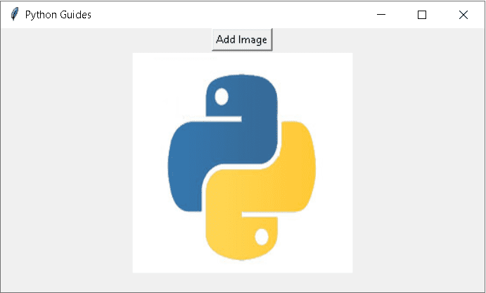 Add image in Python Tkinter