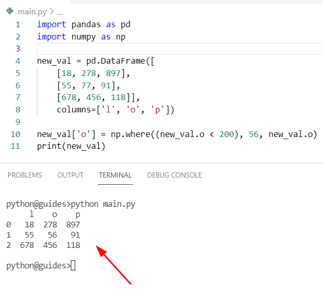 Pandas find and replace multiple values