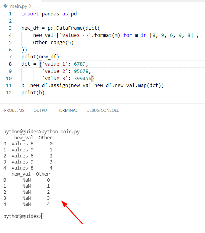 Pandas replace multiple values in multiple columns based on condition